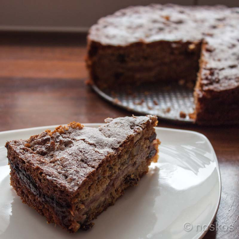 Appel Walnoot Cake